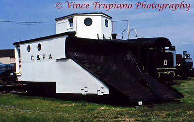 Coudersport & Port Allegheny Railroad Snowplow, ca. 1890
