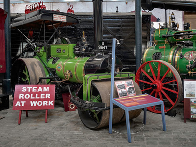 1921 Thomas Green Steam Roller