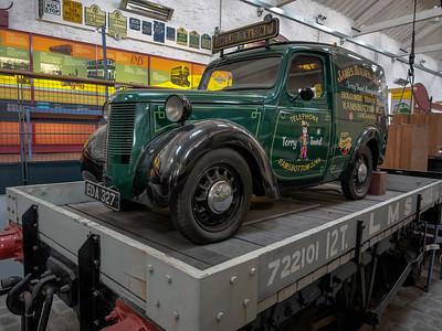 1946 Austin 8 Van