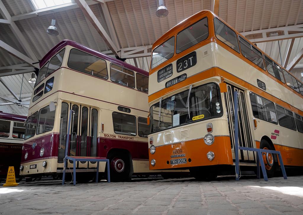 Leyland Atlanteans at Bury Transport Museum