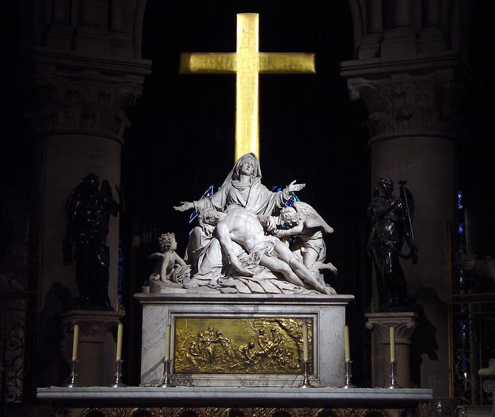 Notre Dame de Paris, main altar