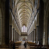 Salisbury Cathedral, nave and main entrance