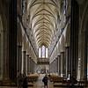 Salisbury Cathedral, nave and main entrance