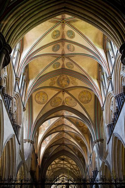 Salisbury Cathedral, choir ceiling