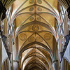 Salisbury Cathedral, choir ceiling