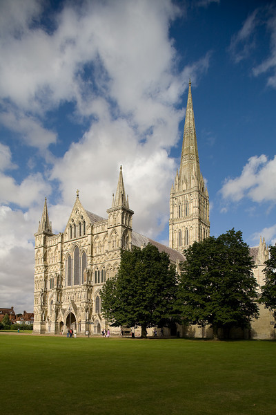 Salisbury Cathedral, main entrance