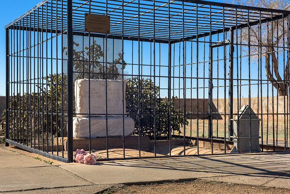 Billy the Kid's Grave, Old Fort Sumner NM (23 February 2017)