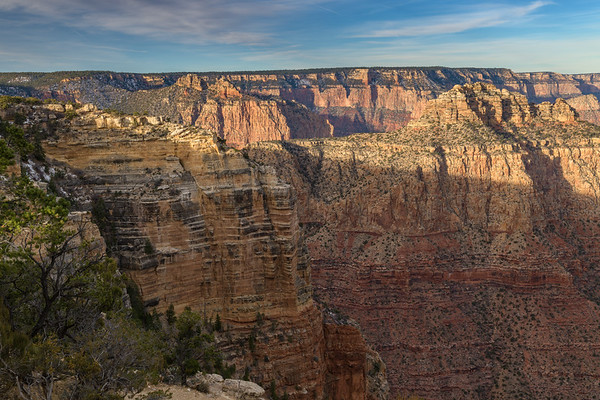 The Submarine and The Sinking Ship Moran Point, Grand Canyon NP (31 January 2018)