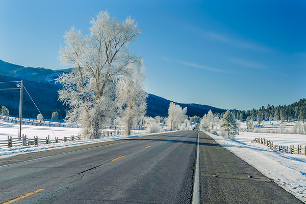 South of Wolf Creek Pass and North of Pagosa Springs CO (December 2011)