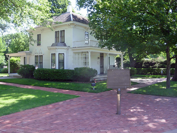 Ike Eisenhower Home, Abilene KS (June 2007)