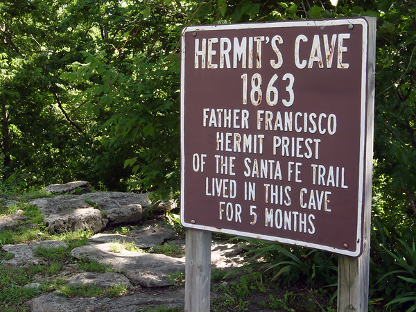 Hermit Priest, Santa Fe Trail, Council Grove KS (June 2007)