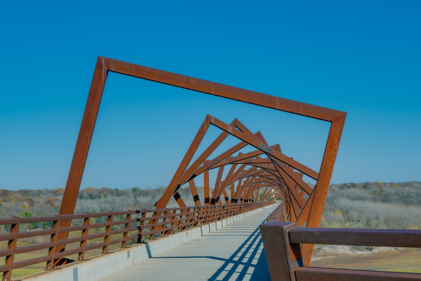 High Trestle Bidge, Madrid IA (20 October 2014)
