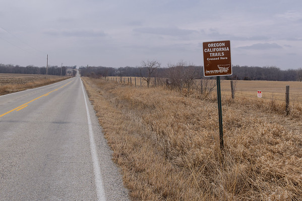 California & Oregon Trails, Lexington KS (8 March 2014)