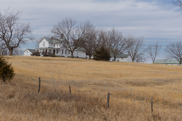 Kansas Homestead, Reno KS (8 March 2014)