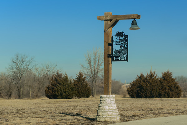 Lone Elm Grove Campground on Santa Fe Trail, Olathe KS (9 March 2014)