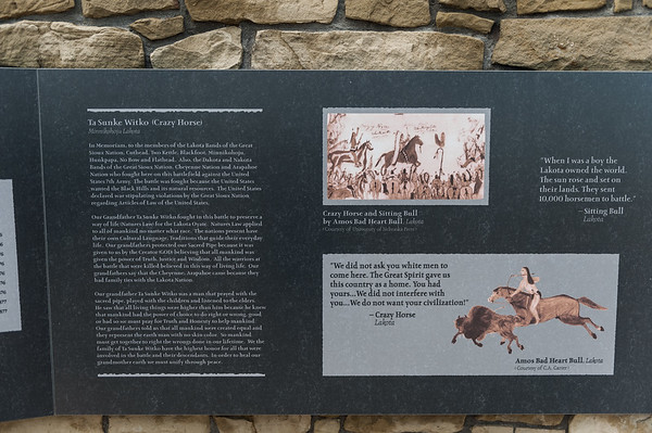 Indian Memorial, Battlefield of Little Bighorn NMP (May 2012)