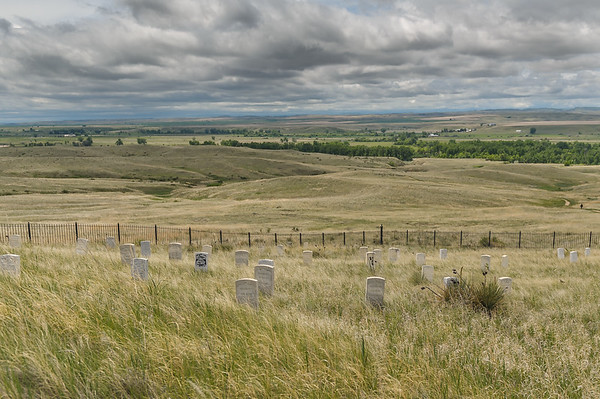 Custer's Burial Site, Little Bighorn Battlefield NMP (May 2012)