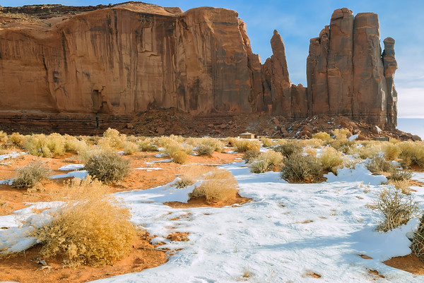 Home of the Navajo, Monument Valley, Kayenta AZ (18 December 2007)
