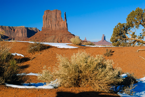 Left Mitten, Monument Valley, Kayenta AZ (17 December 2007)