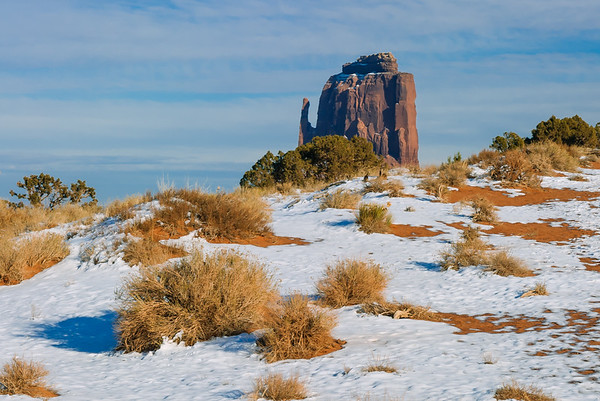 Right Mitten, Monument Valley, Kayenta AZ (17 December 2007)