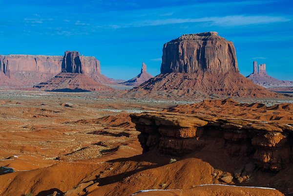 John Ford's Point, Monument Valley, Kayenta AZ  (18 December 2007)