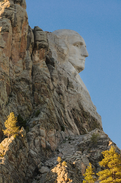 George Washington, Mount Rushmore National Memorial, Keystone SD (7 June 2011)