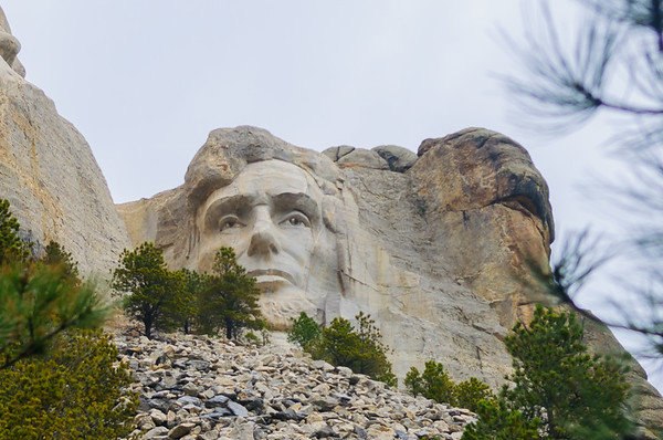Abraham Lincoln, Mount Rushmore National Memorial, Keystone SD (7 June 2011)