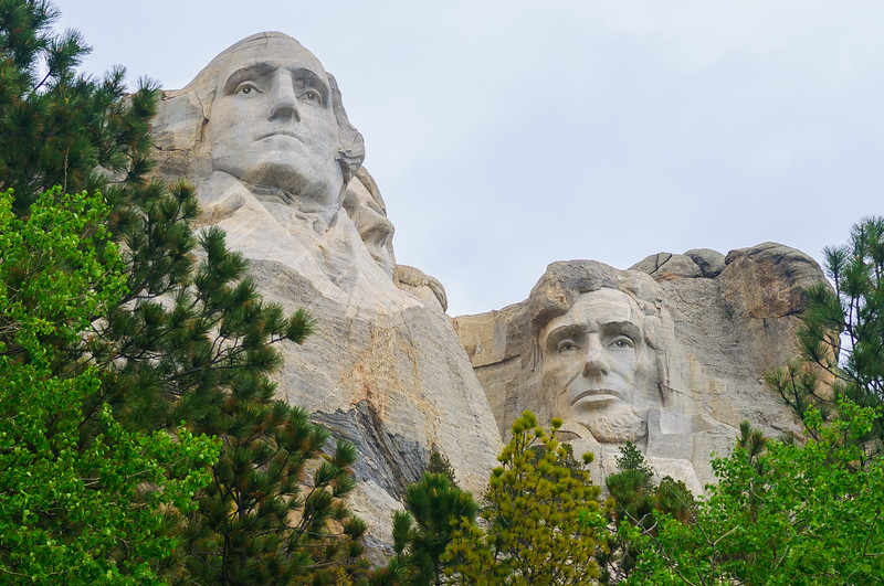 Mount Rushmore National Memorial, Keystone SD (7 June 2011)