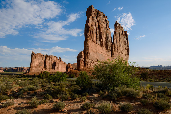Tower of Babel & The Organ, Arches NP (June 2013)