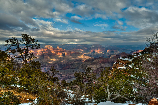 Maricopa Point, Grand Canyon NP (December 2011)