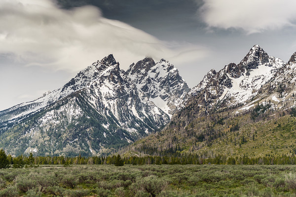 The Cathedral Group, Grand Tetons NP (May 2012)