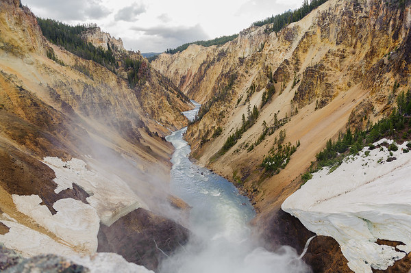 Grand Canyon of the Yellowstone River, Yellowstone NP 2012