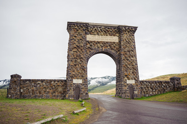 North Gate Entrance, Yellowstone NP 2012