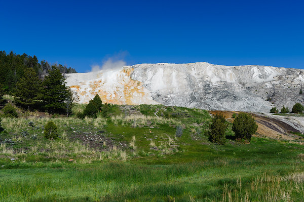 Mammoth Hot Springs Terraces Yellowstone NP (May 2012)