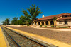 La Posada Hotel Train Depot for Amtrak, Winslow AZ (19 September 2015)