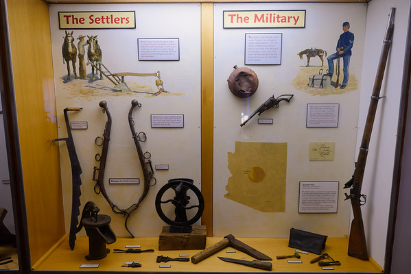 Fort Verde Artifacts, Fort Verde AZ (8 March 2015)