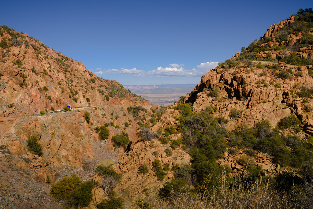 Hwy 89A East to Jerome AZ, Arizona (7 March 2015)