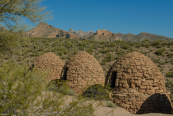 Coke Ovens In The Mineral Mountains, Florence AZ (January 2014)