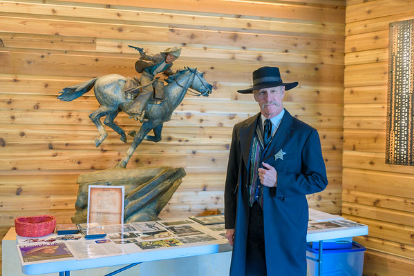 Wyatt Earp, Scottsdale's Museum of the West, Old Town Scottsdale AZ (14 February 2015)