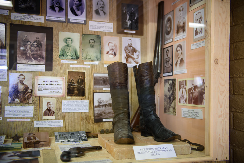 Billy the Kid at Gunfighters Hall of Fame, Tombstone AZ (17 January 2015)