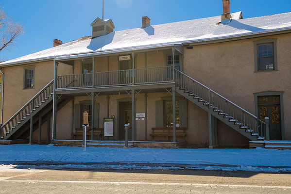 Old Lincoln County Courthouse, Lincoln NM (17 November 2014)