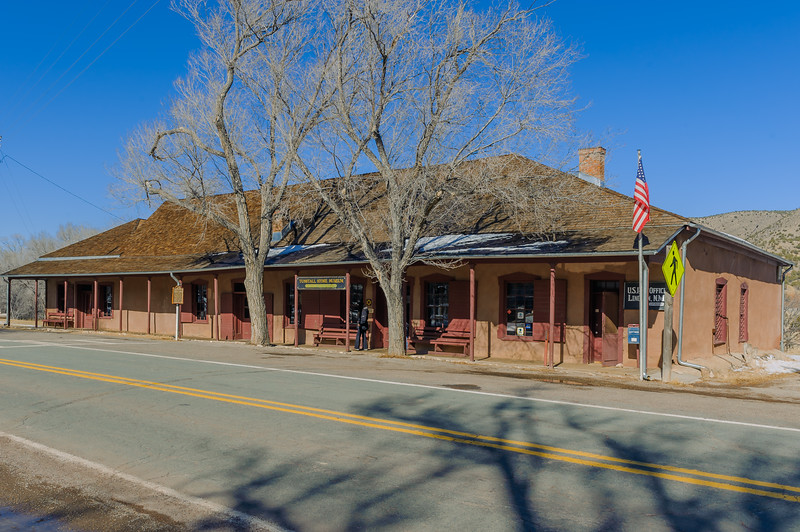 Tunstall & McSween General Store, Lincoln NM (December 2011)