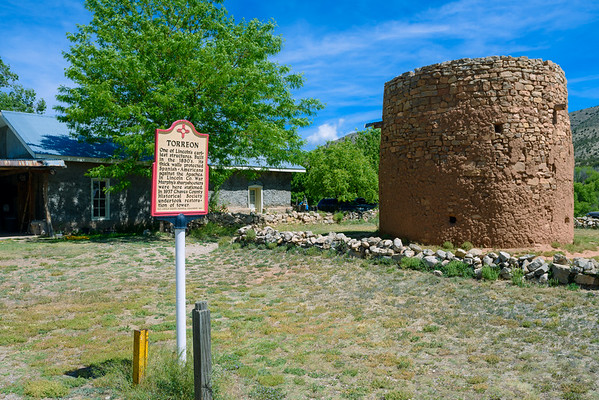 Lincoln's 1850 Torreon, Lincoln NM (20 May 2015)