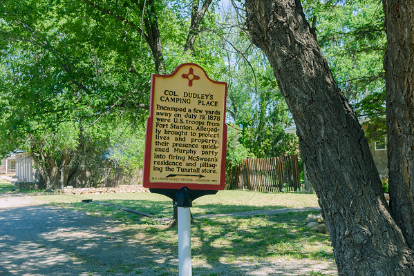COL Dudley's Camping Place, Lincoln NM (20 May 2015)