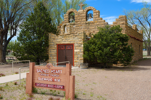 Sacred Heart Catholic Church, Quemado NM (20 May 2015)