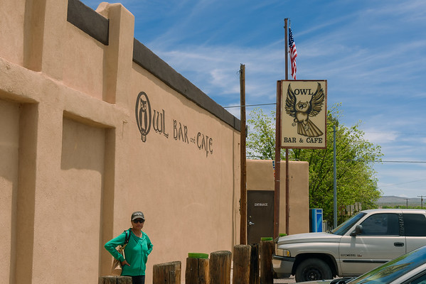 Owl Bar and Cafe, San Antonio NM (20 May 2015)