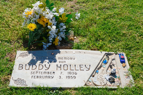 Buddy Holly Grave Site, Lubbock TX (3 June 2015)