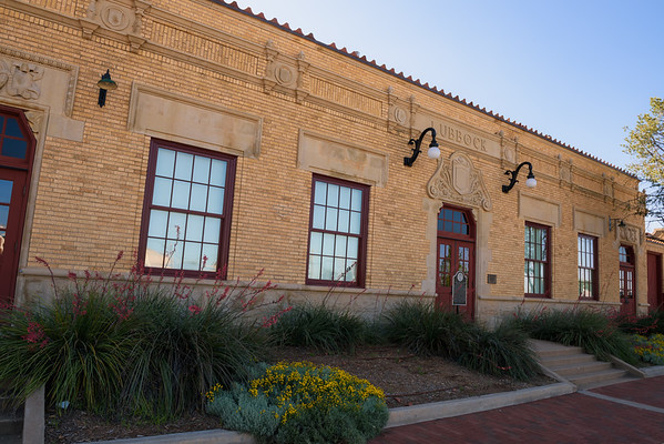 Lubbock Train Depot, Lubbock TX (3 June 2015)