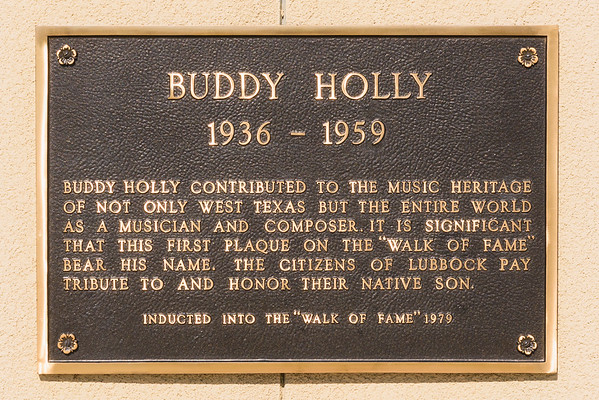 Buddy Holly 1936 - 1959, Lubbock TX (3 June 2015)