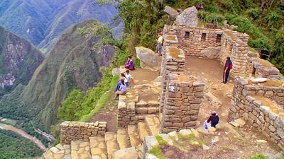 Perched at Inti Punku